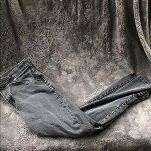 Vintage Riders Faded Black Wash Mom Jeans
